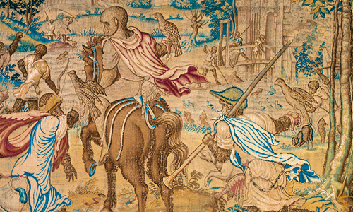 Flemish tapestries